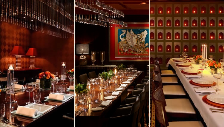 The Private Dining Rooms at Amaya, Chutney Mary and Veeraswamy