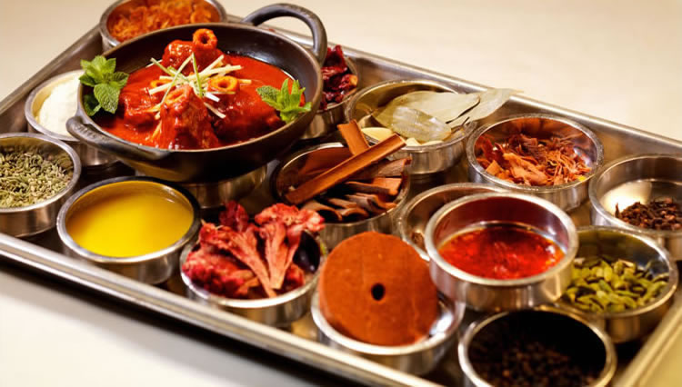 Gourmet indian cusines from london 39 s best indian restaurants for Amaya indian cuisine menu